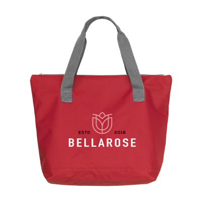 Picture of ZIPSHOPPER SHOPPER TOTE BAG in Red