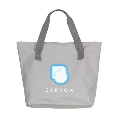 Picture of ZIPSHOPPER SHOPPER TOTE BAG in Grey