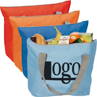 Picture of POLYESTER ZIP SHOPPER TOTE BAG