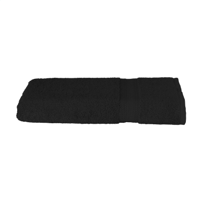 Picture of SOLAINE PROMO BATH TOWEL 360 G & M² in Black