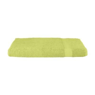 Picture of SOLAINE PROMO BEACH TOWEL 360 G & M² in Light Green