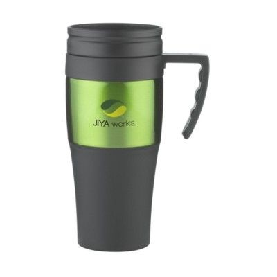 Picture of SOLIDCUP THERMO CUP in Black & Green