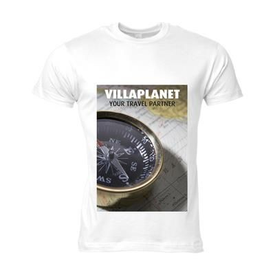 Picture of SOLS CALIFORNIA TEE SHIRT MENS in White