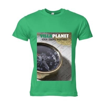 Picture of SOLS CALIFORNIA TEE SHIRT MENS in Green
