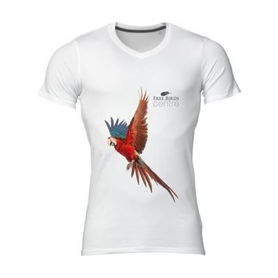 Picture of STEDMAN VISION TEE SHIRT MENS in White