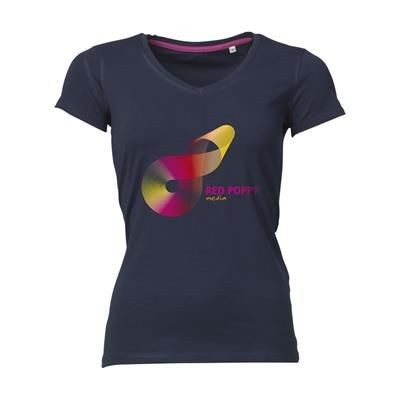 Picture of STEDMAN VISION TEE SHIRT LADIES in Navy