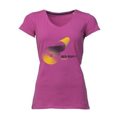 Picture of STEDMAN VISION TEE SHIRT LADIES in Pink