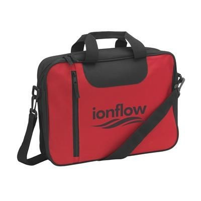 Picture of BIZZBAG DOCUMENT BAG in Red