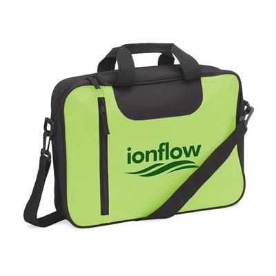 Picture of BIZZ BAG DOCUMENT BAG in Lime