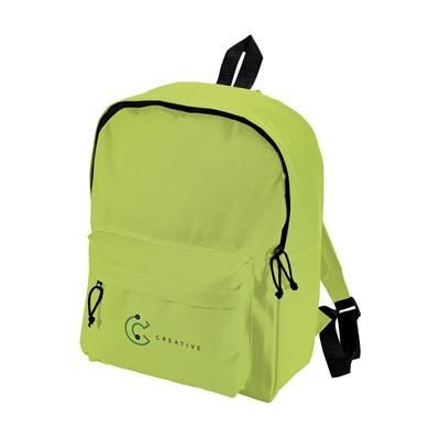 Picture of TRIP BACKPACK RUCKSACK in Lime