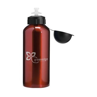 Picture of ALUBOTTLE DRINK BOTTLE in Red