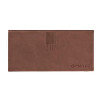 Picture of EURO SABANA DIARY in Brown