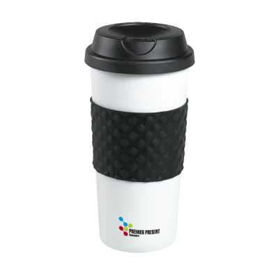 Picture of HEATCUP COFFEE THERMO CUP in Black & White