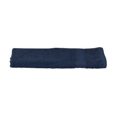 Picture of SOLAINE DELUXE GUEST TOWEL 450 G & M² in Navy