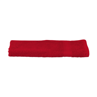 Picture of SOLAINE DELUXE GUEST TOWEL 450 G & M² in Red