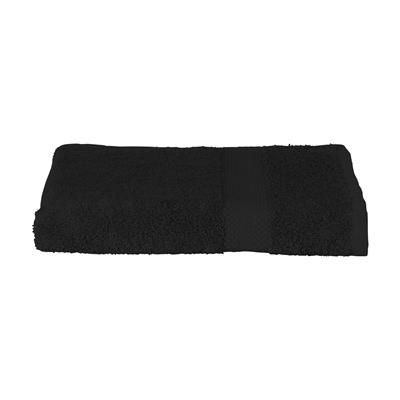 Picture of SOLAINE DELUXE HAND TOWEL 450 G & M² in Black