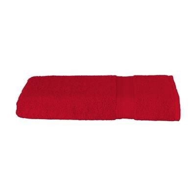 Picture of SOLAINE DELUXE BATH TOWEL 450 G & M² in Red