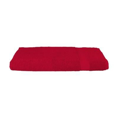 Picture of SOLAINE DELUXE BEACH TOWEL 450 G & M² in Red