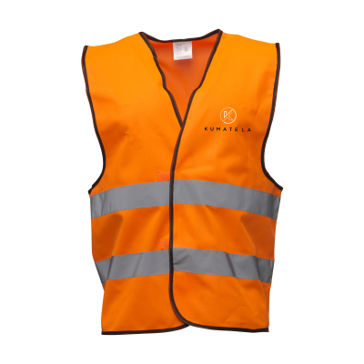 Picture of SAFETY FIRST SAFETY VEST in Neon Fluorescent Orange