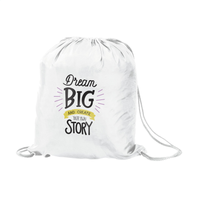 Picture of PROMOBAG BACKPACK RUCKSACK in White