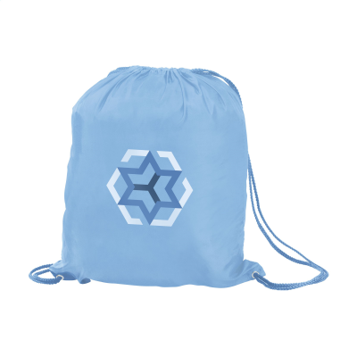 Picture of PROMOBAG BACKPACK RUCKSACK in Light Blue