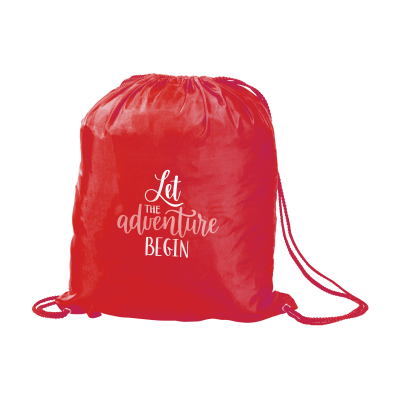 Picture of PROMOBAG BACKPACK RUCKSACK in Red