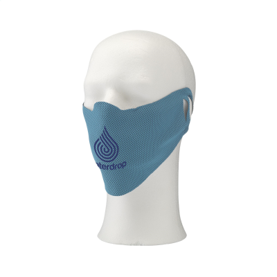 Picture of COOL MASK FACE COVERING in Light Blue