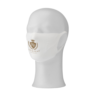 Picture of RE-USABLE MOUTH MASK with Filter Pocket in White