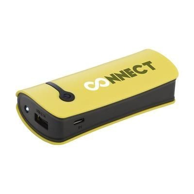 Picture of POWERCHARGER4000PLUS POWERBANK in Yellow