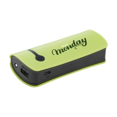 Picture of POWERCHARGER4000PLUS POWERBANK in Green