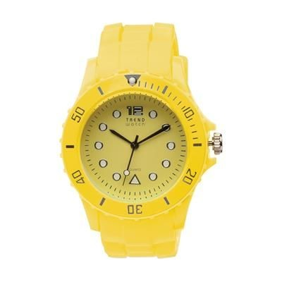 Picture of TREND QUARTZ WATCH in Yellow