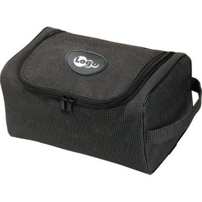 Picture of POLYESTER CARE TOILETRY BAG in Black