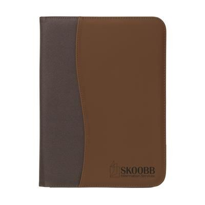 Picture of PERUGIA DOCUMENT CONFERENCE FOLDER in Brown