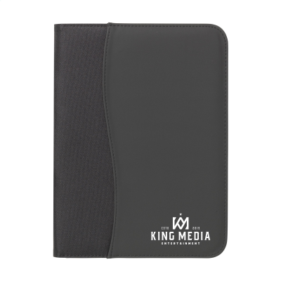 Picture of PERUGIA A4 DOCUMENT FOLDER in Black