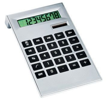 Picture of DESK MATE CALCULATOR in Silver