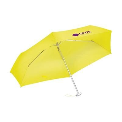 Picture of ULTRA FOLDING UMBRELLA in Yellow