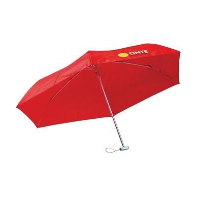 Picture of ULTRA FOLDING UMBRELLA in Red