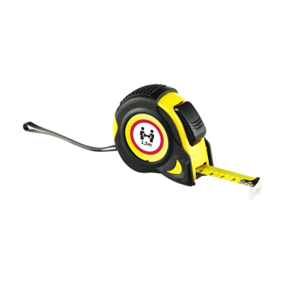 Picture of ROTARY 5 METRE TAPE MEASURE in Yellow