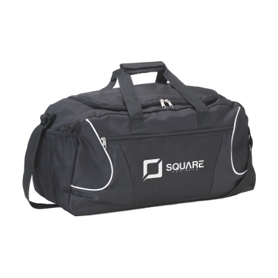 Picture of SPORTS DUFFLE SPORTS-TRAVELLING BAG in Black