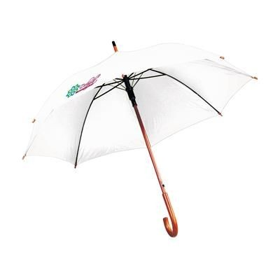 Picture of FIRST CLASS AUTOMATIC UMBRELLA in White
