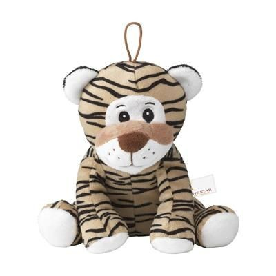 Picture of BRUNO PLUSH TIGER CUDDLE TOY in Brown