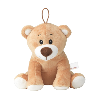 Picture of THOM PLUSH BEAR CUDDLE TOY in Brown