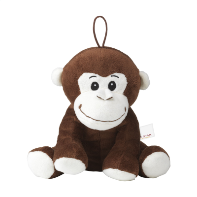 Picture of MOKI PLUSH APE CUDDLE TOY in Brown
