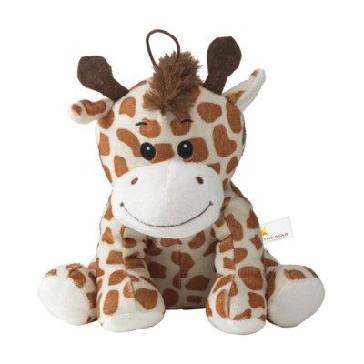 Picture of WAMBLEE PLUSH GIRAFFE CUDDLE TOY in Brown