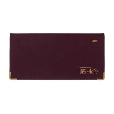 Picture of EURO MANAGER DIARY in Burgundy