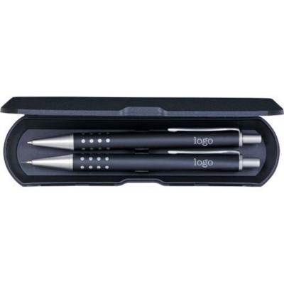 Picture of CHICAGO WRITING SET in Black