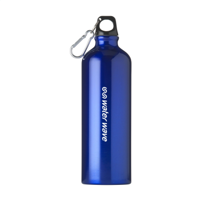 Picture of ALUMAXI 750 ML ALUMINIUM METAL WATER BOTTLE in Blue