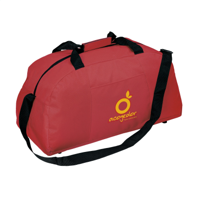 Picture of TRENDBAG SPORTS & TRAVEL BAG in Red