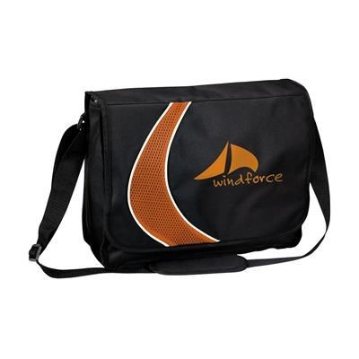Picture of BOOMERANG DOCUMENT BAG in Orange