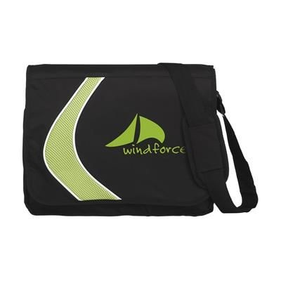 Picture of BOOMERANG DOCUMENT BAG in Green